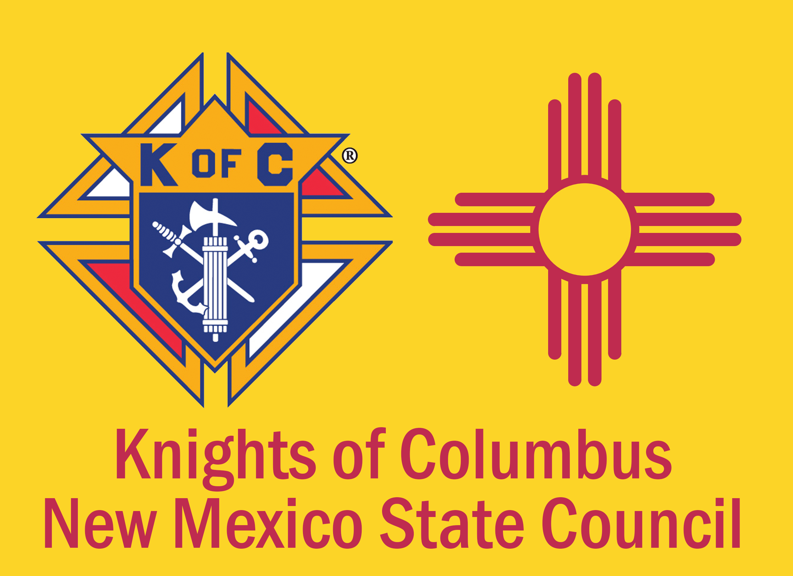 New Mexico State Council of the Knights of Columbus Retina Logo